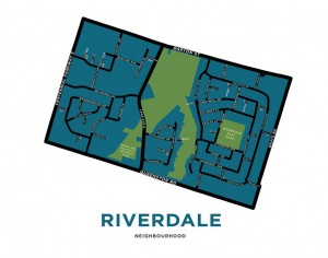 Jelly Bros map of Riverdale neighbourhood. (www.jellybrothers.com)