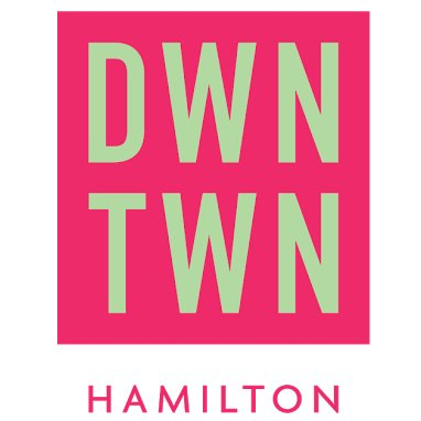 New Downtown Hamilton Business Improvement Area Logo
