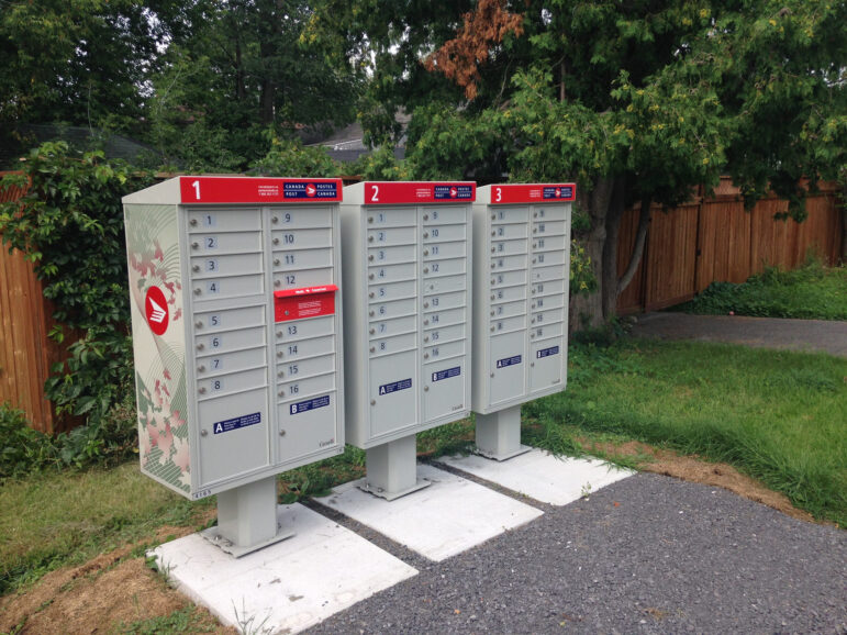Community Mailbox in Ottawa