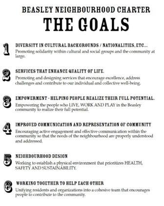 The Beasley Charter Goals